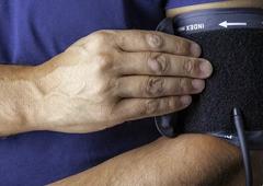 Bild Blutdruckmessung